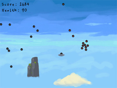 Click to play Alien Abduction of Aliens. (java applet)